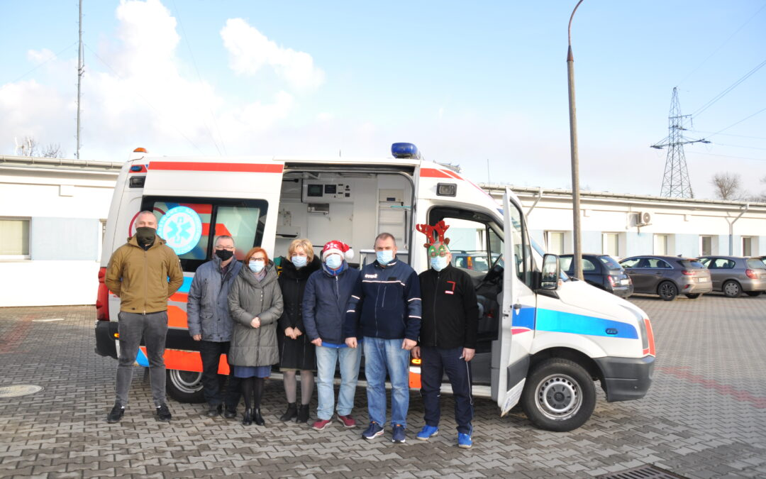 Przekazanie ambulansu