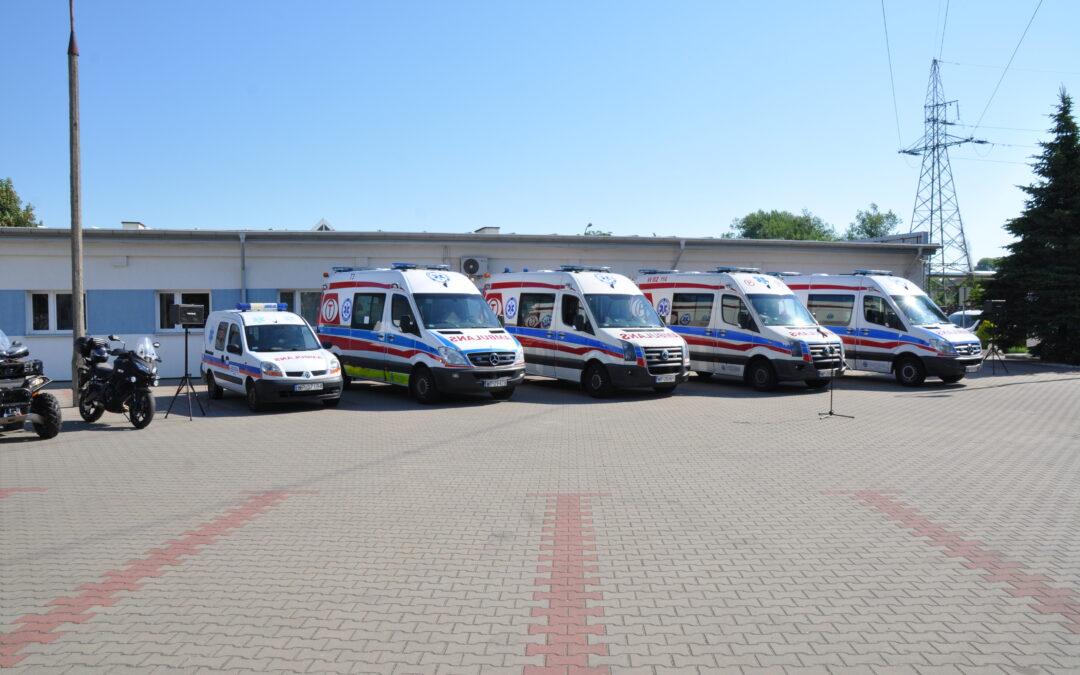 Przekazanie Ambulansów Sanitarnych